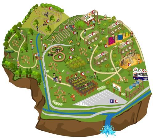 Mappa Capriolandia